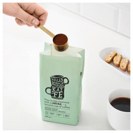 Мерная ложка для кофе и зажим ТЕМПЕРЕРАД латунь фото 1